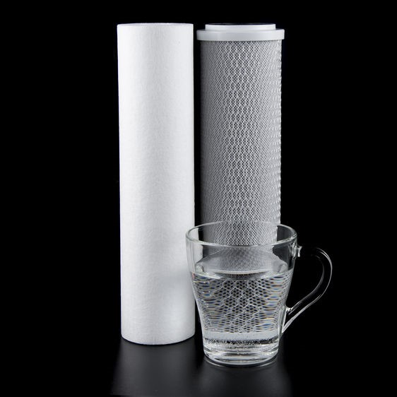 carbon filter and drinkable water