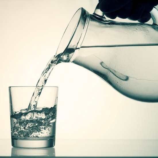 water quality in glass