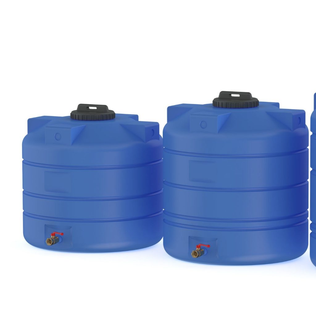 water storage tank sizes